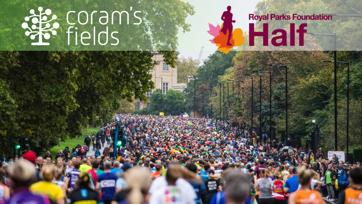 Royal Parks Half Marathon Crowd