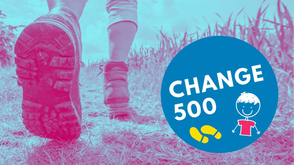 Person walking Change 500